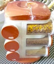 Fashional Multi-purpose Plastic Kitchen Spice Rack