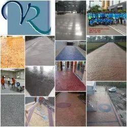 Decorative Concrete Flooring, Thickness: 0-5 mm