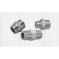 SS Forged Threaded Hex Nipple