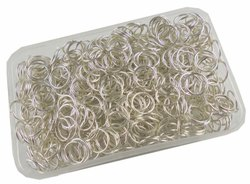 Eshoppee 1kg Silver Color Metal Jump Ring for Jewellery Making Fitting And Findings