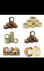 Single Sided Bopp DCG Transparent Cello Stationery Tapes, For Industrial, Packaging Type: Box