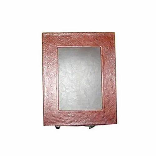 Leather Desktop Photo Frame