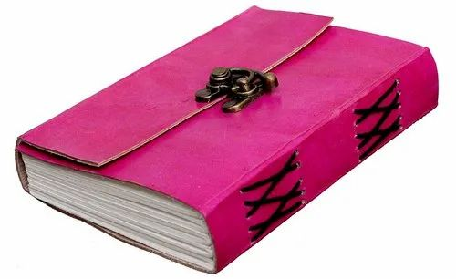 Pink Leather Diary 5a918bf68