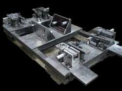 Rectangular Mild Steel Drilling Jig, For Industrial