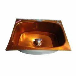 Single Wall Mount Royal Premium Ceramic Coating Kitchen Sink