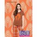 Full Length Cotton Ladies T Shirt & Pajama Night Suit, Packaging Type: Packet