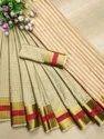 Soft Cotton Silk Saree With Running Blouse