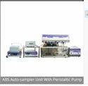 Auto-Sampler Unit With Peristaltic Pump