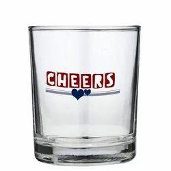 250 ML Printed Whiskey Glass