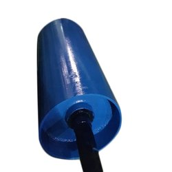 270 mm Mild Steel Blue Conveyor Drum Pulley