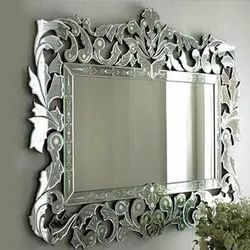 Rectangular Designer Glass Mirror