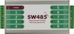 SW485 - Splitter / Extender of RS485