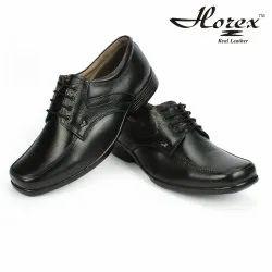 Lace Up Horex Leather Uniform Shoes