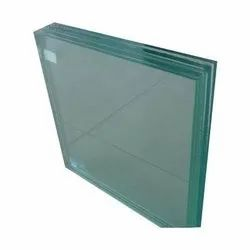 Transparent Toughened Partition Glass, Thickness: 5-10 mm