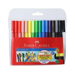 Plastic Faber Castell Sketch Pen, Packaging Type: Packet