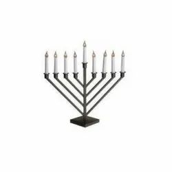 Hanukkah Judaica Menorah Candle Holder