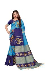 266 Designer Handloom Silk Saree