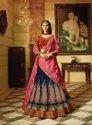 Designer Wedding Wear Heavy Embroidery Lehanga