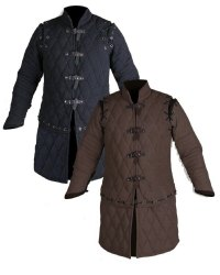 ROMAN TROOPS Plain Medieval Vintage Padded Gambeson Full Sleeves, Packaging Type: BOX