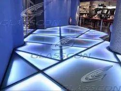 Iluminated Glass, Shape: Flat