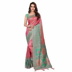 1520 Jacquard Silk Saree