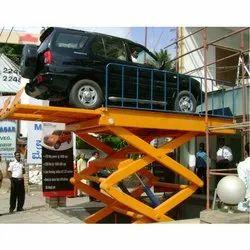 Hydro Extended Platform Car Lift