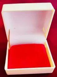 Plastic Plain Gold Earrings Jewellery Box