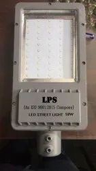 LED Street Light 50 W Frame