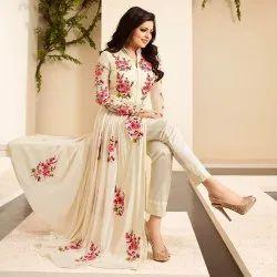 Pransul Fashion Churidar Ladies Printed Suit Material