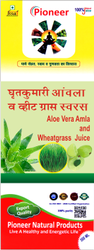 Aloe Vera-Amla-Wheatgrass Juice 500 ml