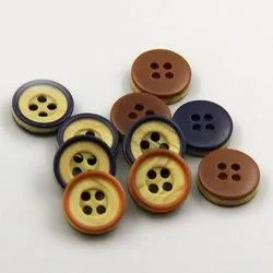 Polyester Round Shirts Button