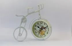 Plastic Designer Cycle Clock, for Decoration & Gifting