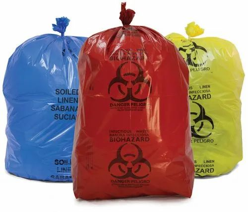 Esd Packaging Bag Biomedical Waste Collection