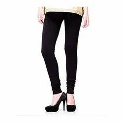 Casual Churidar Ladies Black Lagging, Size: XXL