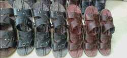 Kids Leather Slippers