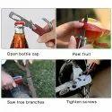 Multifunctional Multitool Claw Hammer