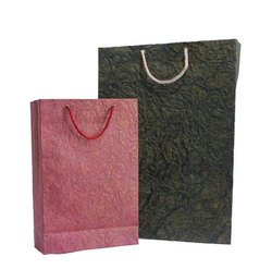 Multi Color Handmade Paper Carry Bag, Size: 14x7x3