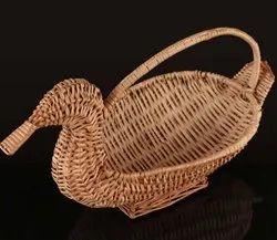 Duck Shape Cane Basket