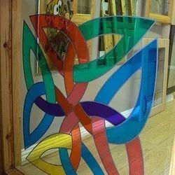 Printed Designer Window Glass, Thickness: 4 - 9 Mm