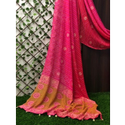 Fancy Digital Printed Bandhani Saree