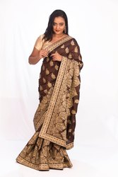Angosree Heavy Worked Wedding Saree