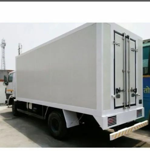 Insulated Refrigeration Container Refrigerated Van