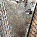 Indian Marble Rainforest Marble Slab, Packaging Type: Box, Thickness: 30 To 40 Mm