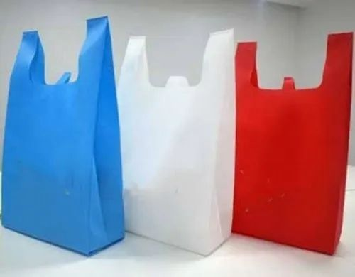 Non Woven W Cut Bag, For Grocery