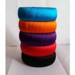 Special Collection Neon Color Broad Silk Thread Bangles