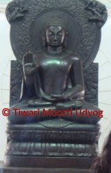 Marble Blessing Buddha Statue