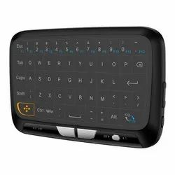 Speed H18 2.4Ghz Wireless Mini Keyboard with Touchpad Mouse, Whole Panel Touchpad