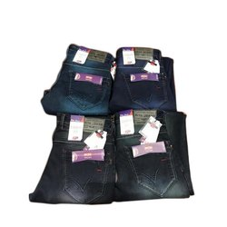 Knitted Denim Comfort Fit Men Plain Slim Fit Jeans, Waist Size: 28-44 Inch