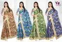 Green Silk 3 Silk Cotton Printed Saree