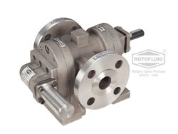 SS Rotary Twin Gear Pumps